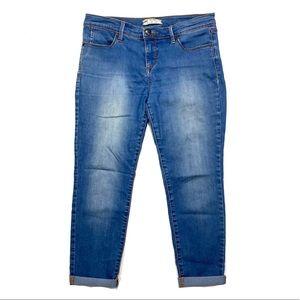 Free people Skinny light wash jeans 29